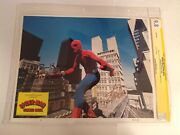 Cgc 9.8 Ss Spider-man Strikes Back Lobby Card Signed Hammond And Stan Lee 11x14