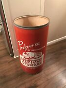Neptune Moving Storage Advertising Truck Trash Can Drum Barrel Sign Nyc New York
