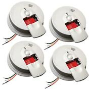 Smoke Detector Hardwire 9v Battery Backup Front Load Door Home Fire Safety New