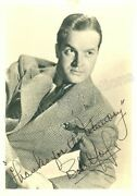 Bob Hope Signed Autographed Photo Cinema Movie Celebrities Collectibles