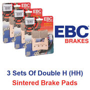 Ebc Double H Brake Pad Set Honda Gl 1800 A Gold Wing Abs Deluxe 2007 - 2009