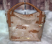 Brahmin Norah Beige Copa Cabana Genuine Leather New With Tags