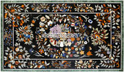 Exclusive Marble Breakfast Table Multi Inlay Floral Arts Decorative Home H3870