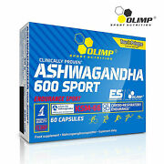 Ashwagandha 600 Sport - 5 Withanolides - Fights Stress And Anxiety - Sleep Aid