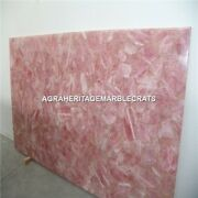 Marble Side Rectangle Table Marquetry Handicraft Inlay Mosaic Garden Decor H5300