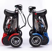 2021 New Foldable Perfect Travel Transformer 4 Wheel Electric Mobility Scooter