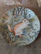 Tarzan By Zoe Stokes American Artists Cat Collector Plate 1982