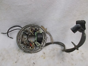 Evinrude Outboard Boat Motor 1961 10 Hp / Magneto Points Coil Plate Assembly