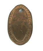 Will Rogers Rolled Elongated Penny Cowboy Philosopher 1879-1935