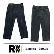 Bulwark Flame Resistant Clothes Fr Pants Comforttouch Industrial Work Uniform