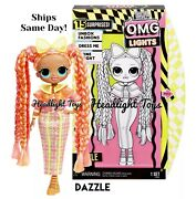 1 Authentic Lol Surprise Dazzle Omg Fashion Doll Lights Series 2 Neon In Hand