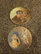 Gregory Perillo The Companion Series Limited Edition Plates Cubs And Mighty Sioux