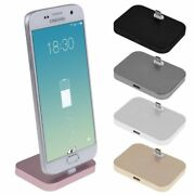 Alloy Micro Usb Charging Dock Mount Stand Station Cradle For Sony Huawei Lg Asus