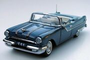 1955 Pontiac Star Chief Convertible Ltd. Edition In 124 Scale By Franklin Mint