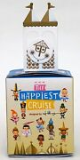 New Disney Small World The Happiest Cruise Mystery Figure Face Clock Castle Wall
