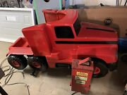 Semi Tractor Kiddie Ride Coin Operated Two Seater