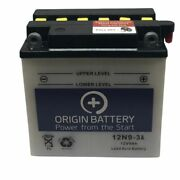 Origin 12n9-3a Battery Replacement W/acid Pack Fits Exide And Power Sonic Models
