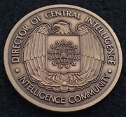 Authentic Director Central Intelligence Agency Cia Dni Dcia Intel Challenge Coin