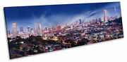 Johannesburg City Skyline South Africa Print Panorama Canvas Wall Art Picture