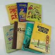 7 Vintage Childrens Christianity Books Bible Stories Story Time Taking Turns Sda