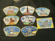 Suffolk County Council Light House Saps, 8 Different   C71