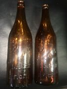 Cascade Lager Sf Cal Antique Beer Amber Bottle Pre Prohibition Bay Area Vhtf Oop