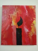 Gallery .. Paintings ... The Fire Shadow ... Acrylic On Canvas Art