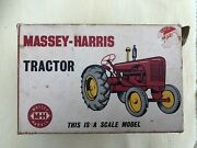 Lesney Massey Harris Large Scale Tractor. Boxed.