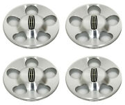4 Oem 2001 Lincoln Ls Machined Center Caps / Hubcaps 3369