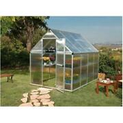 6and039 X 8and039 Twin Wall Mythos Greenhouse
