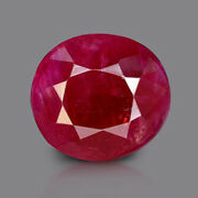 Igi Certified 3.29ct Burmese Ruby Natural Unheated Oval Gemstone Quick Dispatch