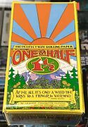 Head One And A Half - Vintage Cigarette Rolling Papers Pak Full Box Rare L@@k