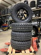 35 12.5 18andrdquo Federal Couragia Tires 18x9 -12mm Offset Leveled Lifted F150 6x135