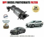 For Honda Accord 2.2td 2008 New Dpf Diesel Particulate Filter 18190-rl0-g00