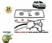 Opfor Vauxhall Corsa D 1.0 1.2 1.4 2006 Timing Cam Chain Kit + Gears + Gasket
