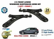 For Kia Pro Ceed 1.4 1.6 Gdi Gt Crdi 2013-2014 2x Front Axle Lower Control Arms
