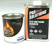 Dark Blue Pearl Basecoat Paint Quart And Fast Reducer Ford Dx Hfp856 High Teck