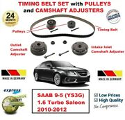 For Saab 9-5 Ys3g 1.6 Turbo 2010-2012 Timing Belt Set With Camshaft Adjusters