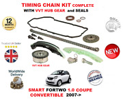 For Smart Fortwo 1.0 2007- Timing Chain Kit Complete With Vvt Hub Gear + Seals