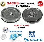 For Audi A3 2.0 Tdi 2003-on Sachs Dmf Dual Mass Flywheel With Mounting Bolts