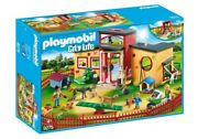 Playmobil City Life Tiny Paws Pet Hotel Incl Receiption Kitchen And More 9275