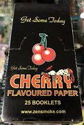 Cherry - Cherry Cigarette Rolling Papers Factory Sealed Rare Oop L@@k
