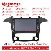 """9"""" Quad Core Android 10.1 Car Non Dvd Media Player Gps For Ford Mondeo Xr5 Turbo"""