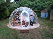 V2 Replacement Cover For Bubble Tent Garden Igloo Plant Geodesic Dome Walk In