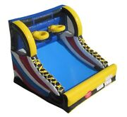Commercial Inflatable Games - Mini Hoop Shot Basketball Kids Game With Blower