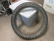 Nos Vintage Carlisle Made In Usa 4 Ply Motorcycle Motocross Tire 3.50-18 3.50 18