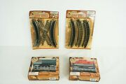 Tands Trains Christmas Village Curved Track W/ Freight Cars And Caboose B66