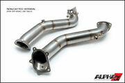Alpha Tuning Downpipes W/cat For 2012-2020 Audi C7 S6/s7