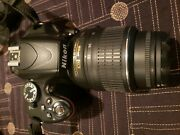 Nikon D D5100 16.2mp Digital Slr Camera - With Extra Lenses And Extras