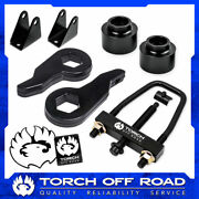 3 Front 2 Rear Lift Kit For 2003-2010 Hummer H2 4x4 4wd Shock Extenders + Tool